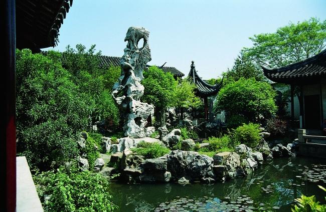 园林 苏州园林 景观 园林石 湖水 湖面 名院 园林设计 建筑 古典