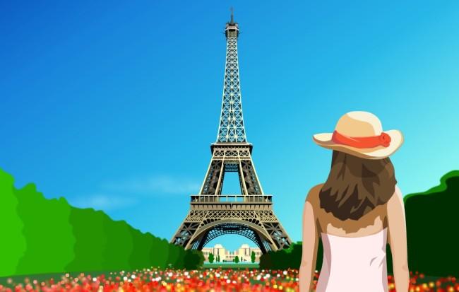 塔和最中动画图片