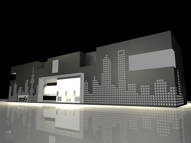3d展台模型-展台|展厅模型-室内设计3d模型