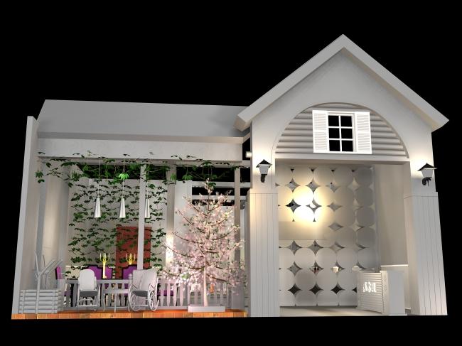 立体建筑 展览设计