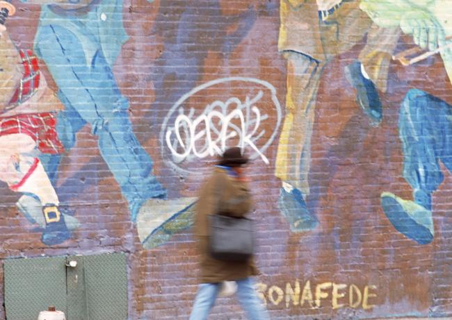 涂鸦墙画背景