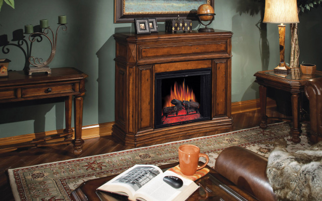室内客厅壁炉-室内设计-其他