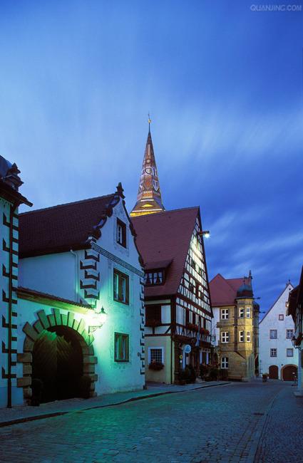 欧式建筑 建筑设计 旅游素材