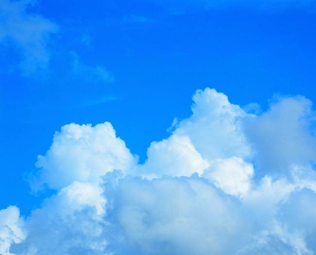 天空背景 蓝天白云