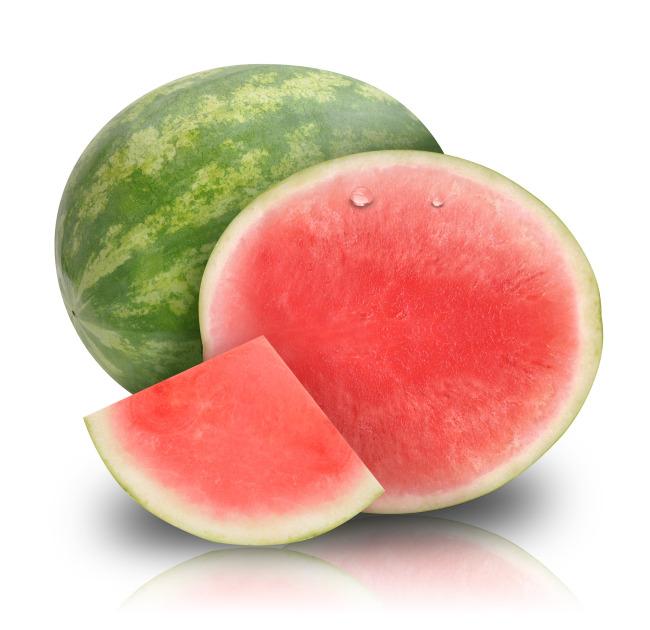 鲜红 西瓜 大西瓜