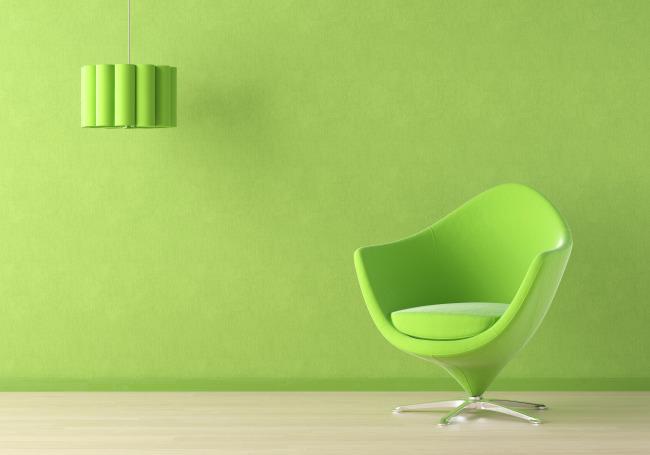 绿色沙发 室内设计
