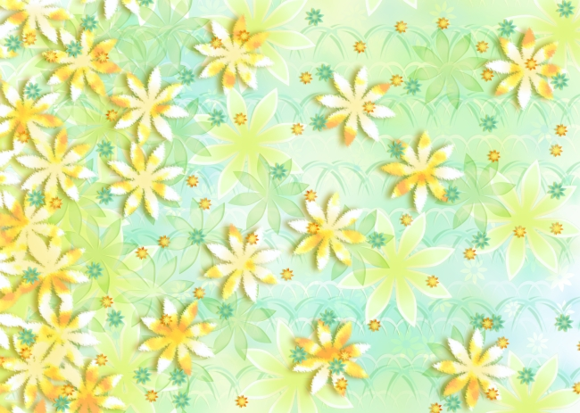 淡雅色彩花纹背景底图
