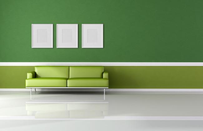 家居装修 清新 绿色