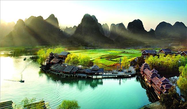 桂林山水高清摄影图片