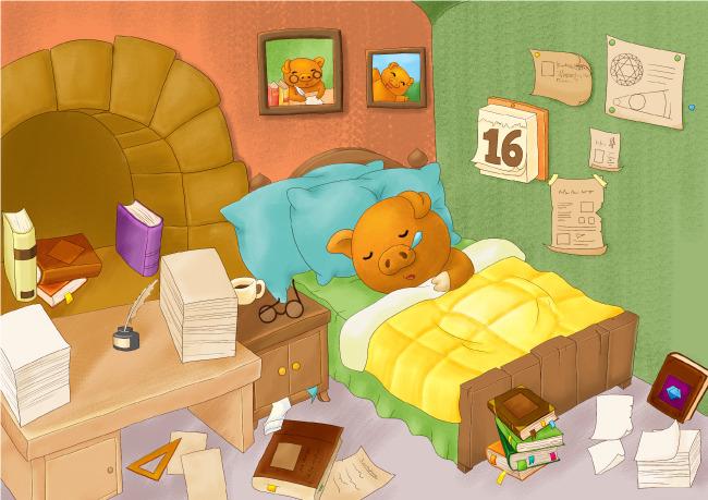 儿童插画-插画|元素|卡通-其他