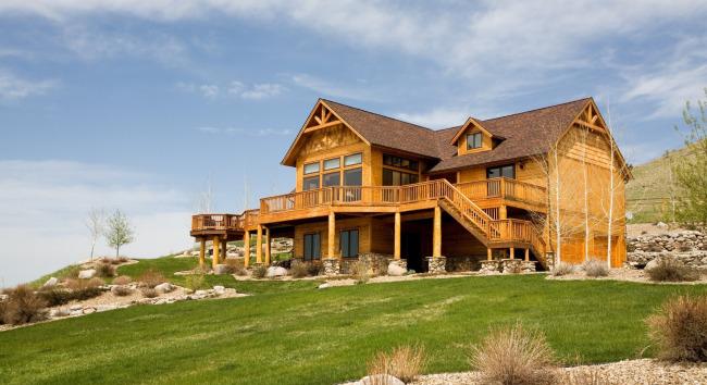 木头别墅 木结构别墅