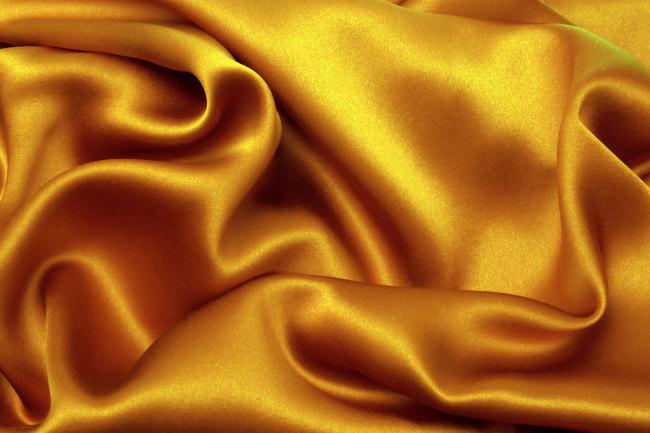 539 兆  黄色 丝绸 稠缎 布 背景图片 服饰丝巾布料布艺 材质