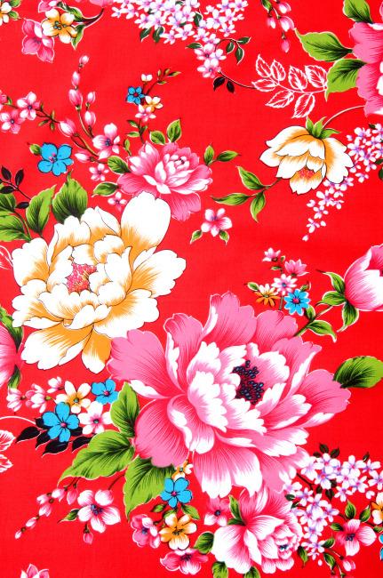 牡丹花花纹 背景 图案
