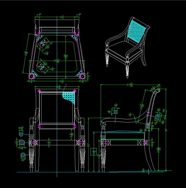 现代家具座椅-cad图纸-室内装饰|无框画|移门
