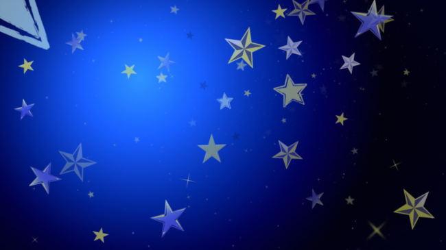 飘舞的星星LED视频素材图片