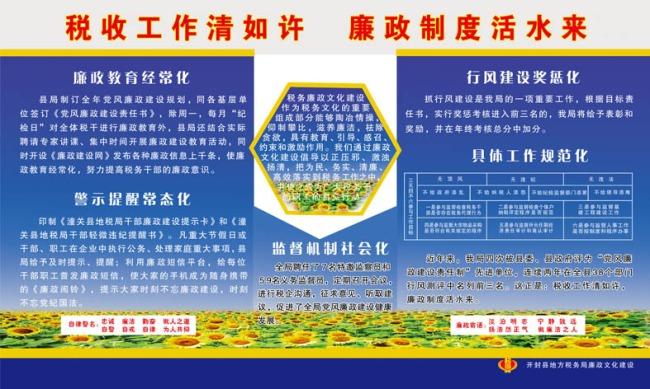 党政机关文化建设橱窗展板