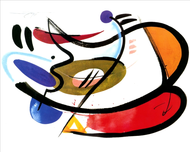 组合抽象画