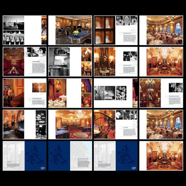 世界国外版式画册模板 -企业画册(整套)-画册设计