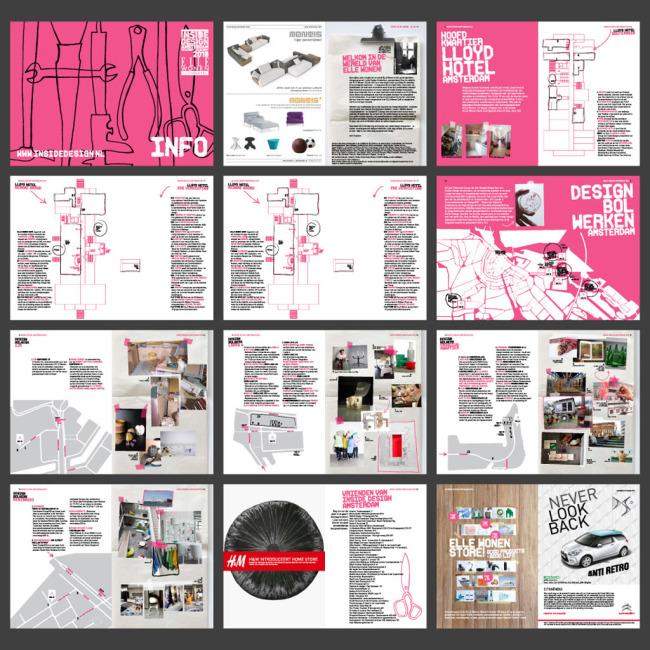 国外汽车时尚画册杂志排版模板