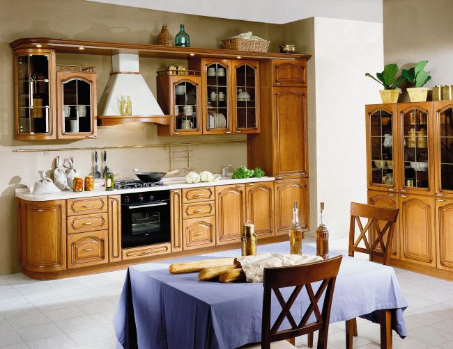 厨房一体化设计图片