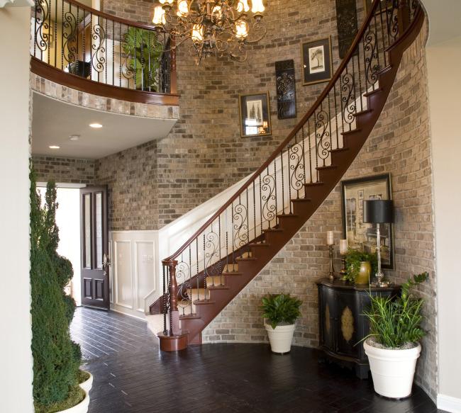 别墅楼梯转角设计图