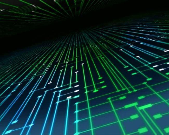科技电子信息电路手机动态素材