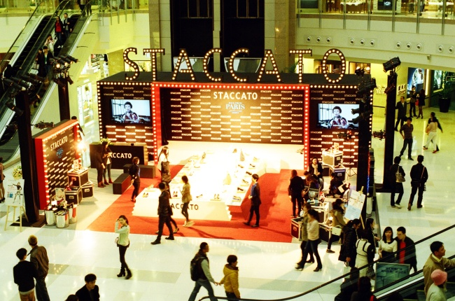 商场小舞台设计效果图
