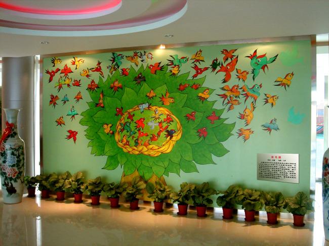 幼儿园墙面室内装饰