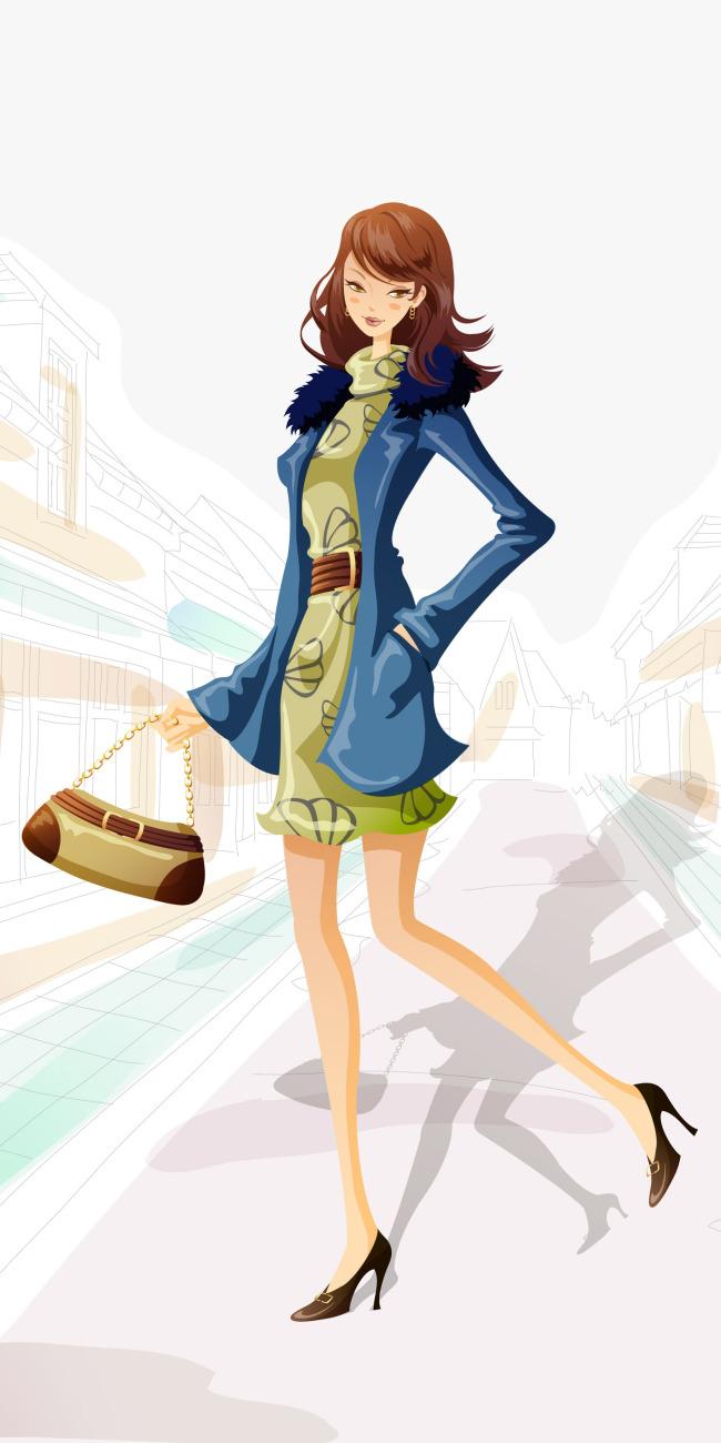 卡通青春少女