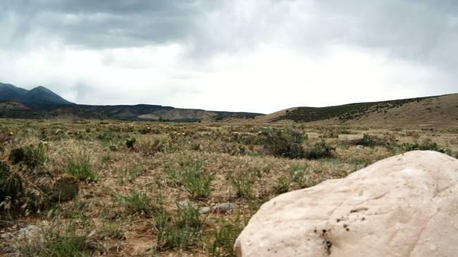 高清实拍戈壁山丘-实拍视频素材-实拍视频素材