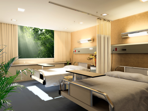 医院病房设计效果图