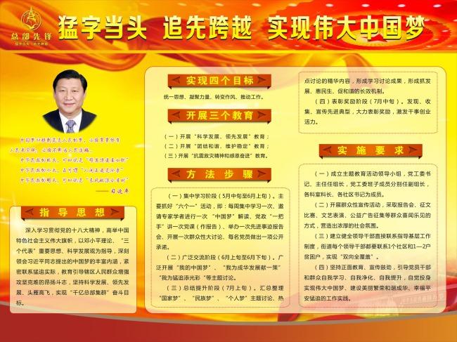 中国梦介绍-党建展板设计-展板设计