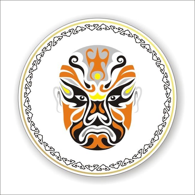 京剧脸谱挂盘-其它-室内装饰|无框画|背景墙