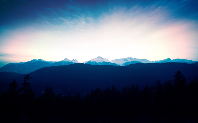 荒山风景万里阳光