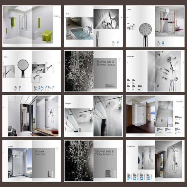 家居装饰公司画册设计模板