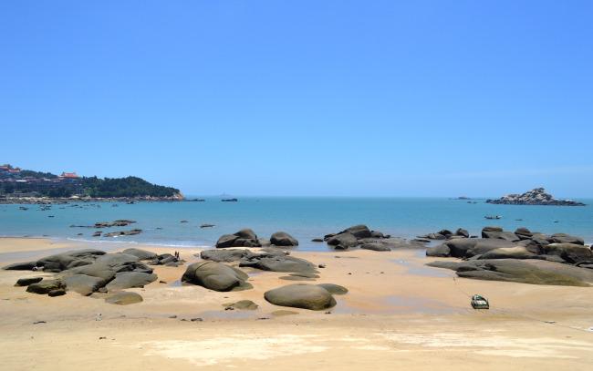 湄洲岛沙滩