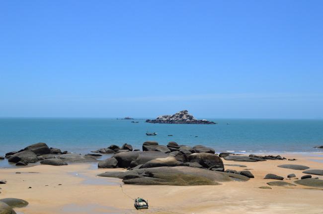 326 兆  湄洲岛沙滩 黄金海滩 海