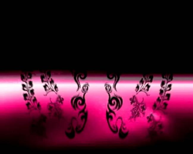 粉色古典花纹视频素材
