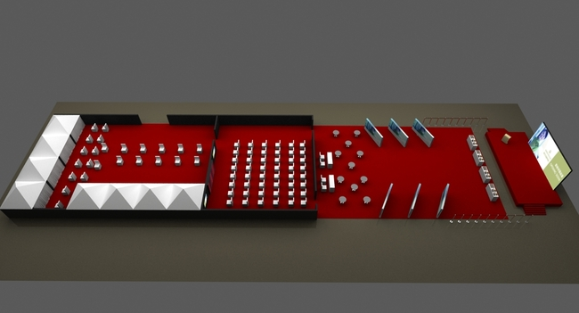 会舞台舞美设计效果图 室内模型 3d模型下载 模型库 3d效果