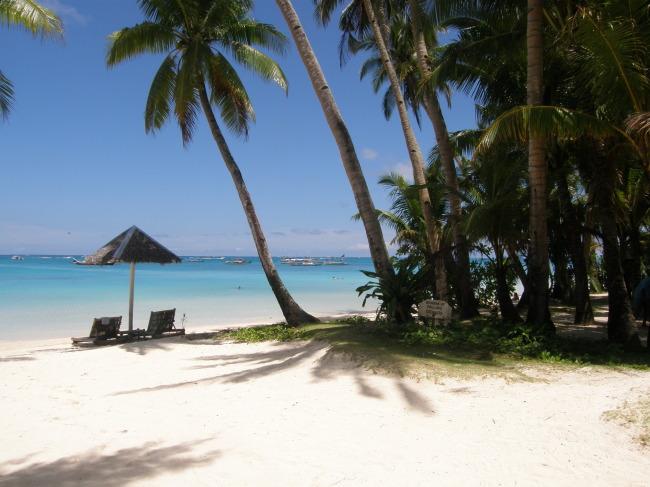 菲律宾长滩岛海滩
