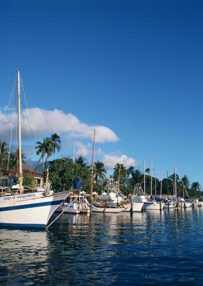 夏威夷岛建筑风景