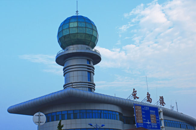 烟台长岛港照片