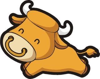 十二生肖牛-插画|元素|卡通-其他