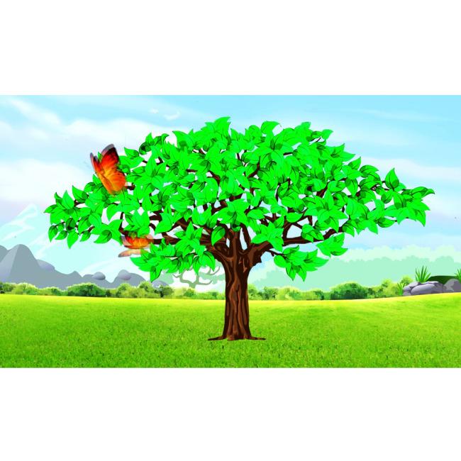 大树生长动画