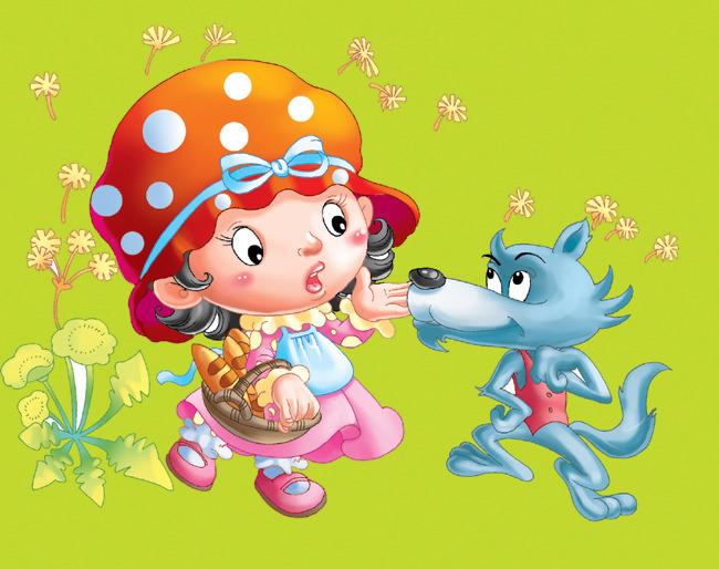 童话故事人物-插画|元素|卡通-其他
