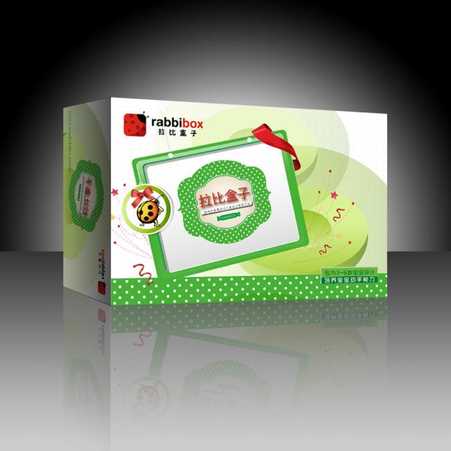 益智玩具包装盒展开图