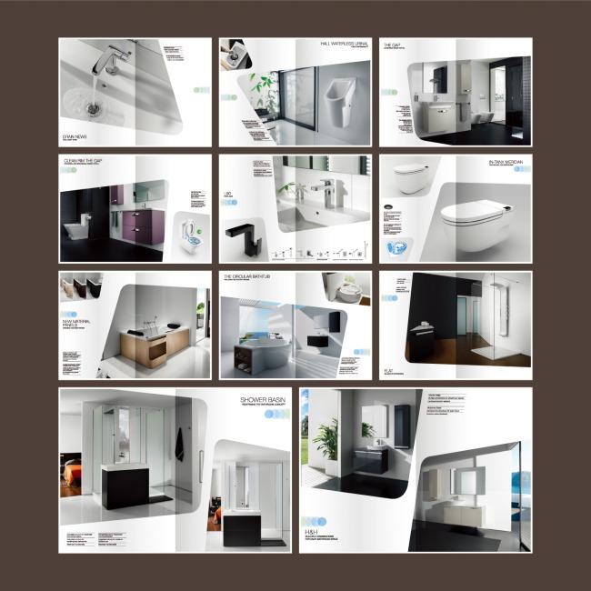 家装设计卫浴画册-其它画册设计-企业画册|招商|房