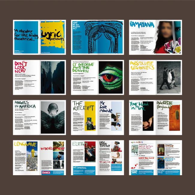 版式设计画册