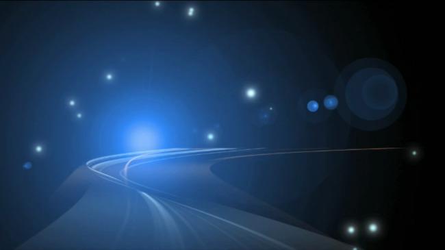 高清动态彩色激光光效光影粒子视频素材