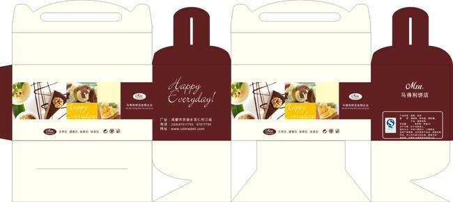 蛋糕盒包装-礼品|包装|手提袋设计模板-其他